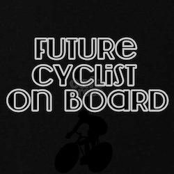 Future Cyclist on Board Maternity T-Shirt