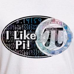 I Like Pi Oval Shirt