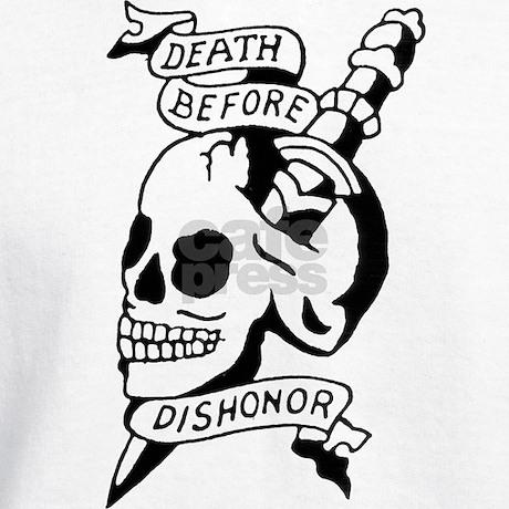 Death before dishonor hoodie