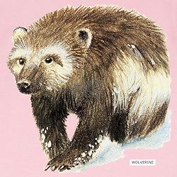 Wolverine Animal Infant T-Shirt