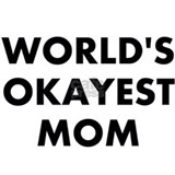 World's Okayest Mom Small Mugs