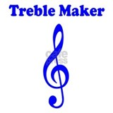 Treble Maker Blue Mug