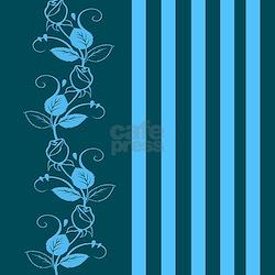 Dark Teal Floral Shower Curtains Dark Teal Floral Fabric Shower Curtain Liner