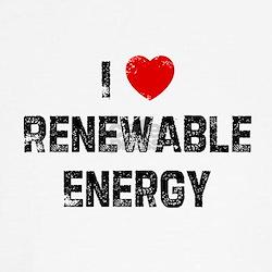 I * Renewable Energy Tee