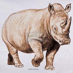 Rhino Rhinoceros Animal Tee