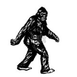 GONE SQUATCHIN BIGFOOT TSHIRT Mug