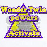 Onesies wonder twins Baby Bodysuits