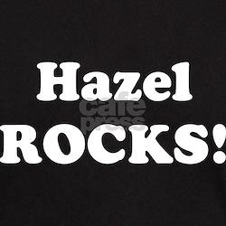 Hazel Rocks! Black T-Shirt