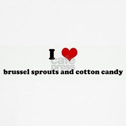 I Love brussel sprouts and co Shirt