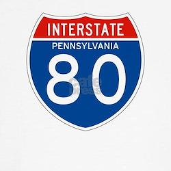 Interstate 80 - PA Tee