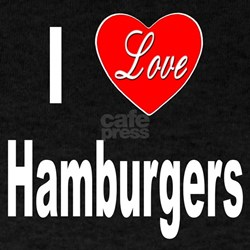 I Love Hamburgers (Front) T-Shirt