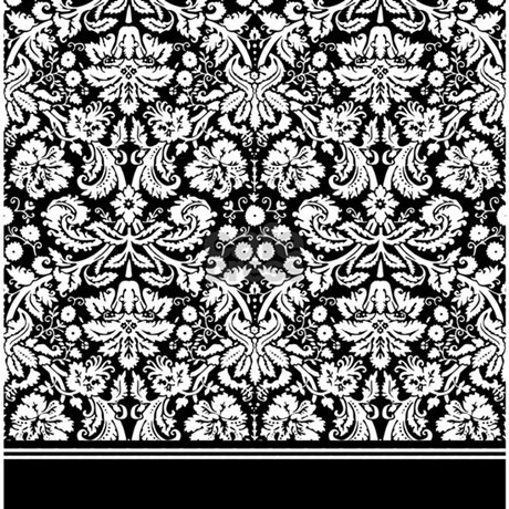 Fancy black and white damask shower curtain jpg color white amp height 460