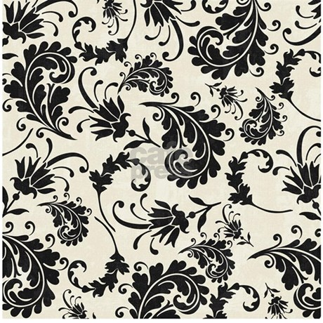 Black and white swirly damask shower curtain jpg color white amp height