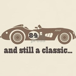 84th Birthday Classic Car T-Shirt