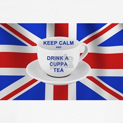 Keep Calm and Drink a Cuppa Tea T