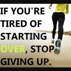 Stop Giving Up T