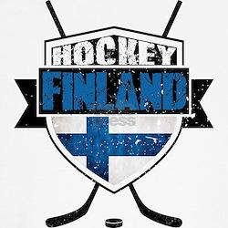 Suomi Finland Hockey Shield Shirt