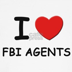 I love fbi agents Kids T-Shirt