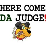HERE COME DA JUDGE! Z Mug