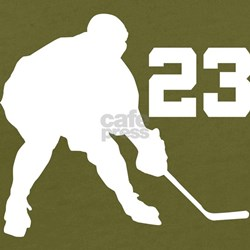 Hockey Player Number 23 T-Shirt