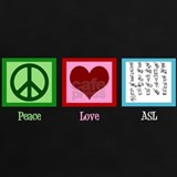 Peace love and T-shirts