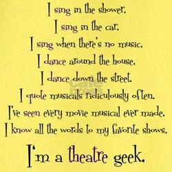 Theatre Geek 2.jpg T-Shirt