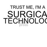 Trust Me, Im A Surgical Technologist Water Bottle