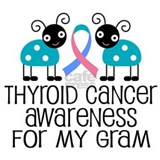 Thyroid Cancer Support Gram Mug