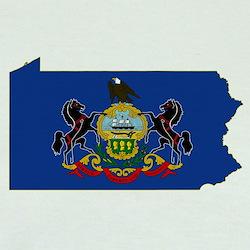 Pennsylvania Flag T