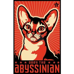 Obey the Abyssinian! T-Shirt