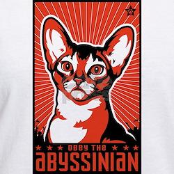 Obey the Abyssinian! Propaganda T-Shirt