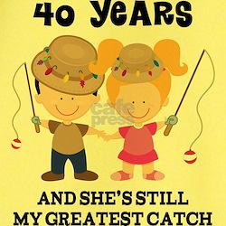 40th Anniversary Mens Fishing T