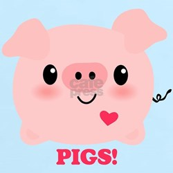 Kawaii I Love Pigs T-Shirt