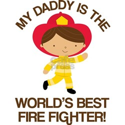 Firefighter Daddy (Worlds Best) Infant T-Shirt