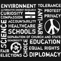 Liberal Values 2 Tee