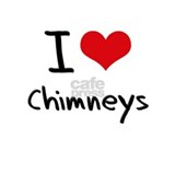 I love Chimneys Water Bottle