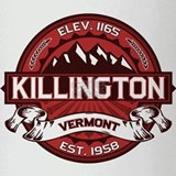 Killington Red Drinking Glass