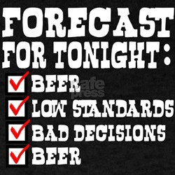 Forecast for tonight T-Shirt