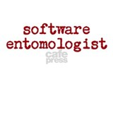 software entomologist - light Water Bottle