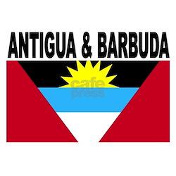 Antigua and Barbuda Flag Infant T-Shirt