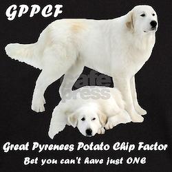 Great Pyrenees Potato Chip T-Shirt