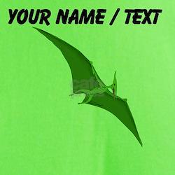 Custom Green Pterodactyl T-Shirt