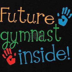 Gymnast Maternity T-Shirt