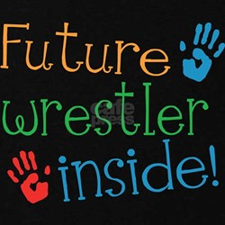 Wrestler Maternity T-Shirt