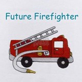 Firefighter baby Baby Bodysuits