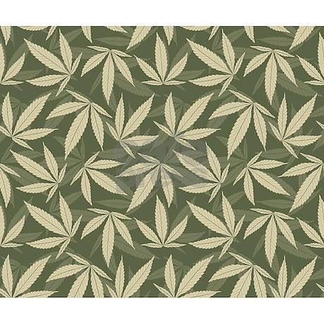 weed leaf template - marijuana leaf pattern throw blanket by bestgear