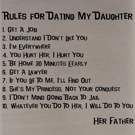 rules for dating my daughter shirt nz herald