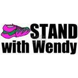 Stand with Wendy Water Bottle