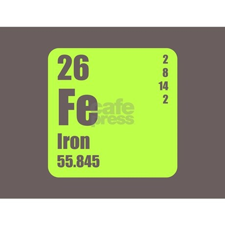 Periodic table of element 39 s fe iron mug by listing store - What is fe on the periodic table ...