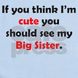Big sister Baby Bodysuits